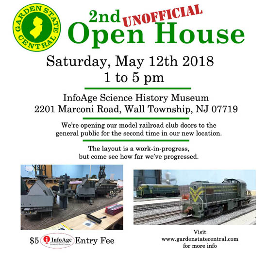 May 2018 open house